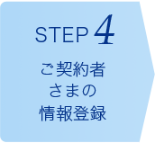 [STEP4]ご契約者さまの情報登録